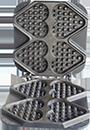 Ti Amo Waffle Iron Plate