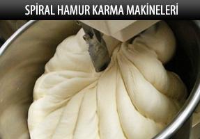 GMG Spiral Hamur Karma Makineleri
